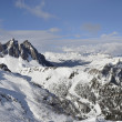 Ces ski area, dolomites - Stock Photo