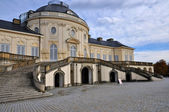 Schloss solitude courtyard facade, stuttgart — Stock Photo