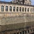 Moat at zwinger, dresden — Stock Photo