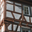 Wattle house, bad wimpfen - Stockfoto