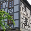 Stock Photo: Grey wattle house, bad wimpfen
