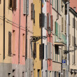 Stock Photo: Saffi street, parma