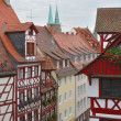 Stock Photo: Street and wattle houses , nurnberg