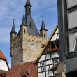 Blau turm , bad wimpfen — Stock Photo