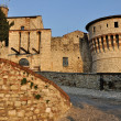 Stock Photo: Castle inner entrance, brescia