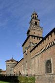 Filarete tower, milan — Stock Photo