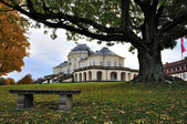 Schloss solitude in fall, stuttgart — Stock Photo