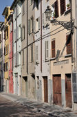 Dalmazia street, parma — Stock Photo