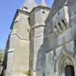 St remi fortified church, aoust, ardennes — Foto de Stock