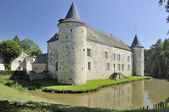 Chateau de la cour, rumigny, ardennes — Stock Photo