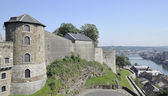 Cittadelle tower and ramparts, namur — Stock Photo