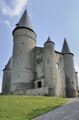 Veves castle, ardennes — Stock Photo