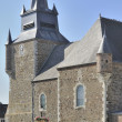 Church  tower, signy le petit, ardennes — Stock Photo