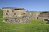 Casemate on city wall, rocroi, ardennes — Stock Photo