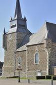 Church tower, signy le petit, ardennes — Stock Photo
