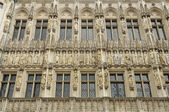 Hotel de ville decoration, brussels — Stock Photo