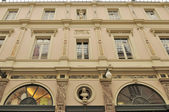 Facade at galeries st hubert, brussels — Stock Photo