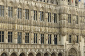 Hotel de ville detail , brussels — Stock Photo