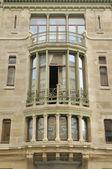 Horta hotel solvay facade, brussels — Stock Photo