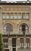 Rue faider 家、ブリュッセル — ストック写真