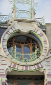 St cyr round balcony, brussels — Stock Photo