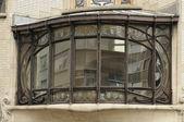 Elliptic liberty window, brussels — Stock Photo