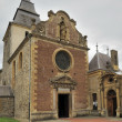 Laval dieu abbey facade, montherme&#039; - Stock Photo