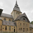 Laval dieu abbey , south side, montherme' — Stock Photo