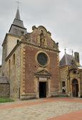 Laval dieu abbey facade, montherme' — Stock Photo