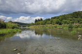 Semoy river at haulme', ardennes — Stock Photo