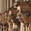Capitals at zwinger, dresden — Stock Photo