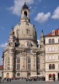 Frauenkirche, dresden — Stock Photo