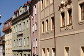 Renaissance houses, bautzen — Stock Photo