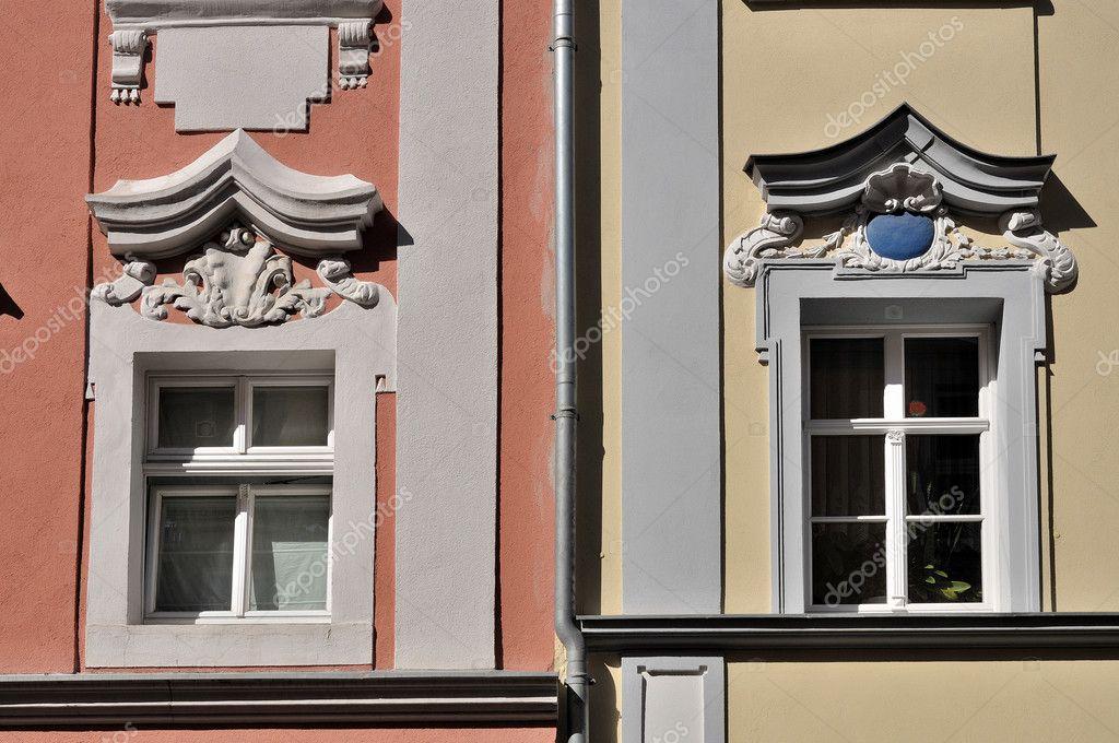 Bautzen finestre nel centro storico foto stock - Rivestire i davanzali delle finestre ...