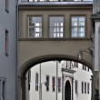 Stock Photo: Kollegiengasse foreshortening, weimar