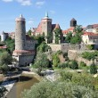 View of city center, bautzen — Stock Photo