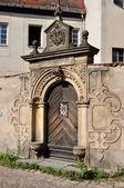 Baroque portal, meissen — Stock Photo