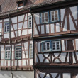 Stock Photo: Wattle facades, bad wimpfen