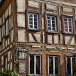 Stock Photo: Scruffy wattle house, bad wimpfen