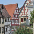 Stock Photo: Wattle houses, bad wimpfen