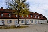 Schloss solitude service buildings, stuttgart — Stock Photo