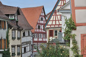 Wattle houses, bad wimpfen — Stock Photo