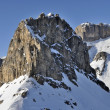 Sas pordoi and piz boe', dolomites — Stock Photo