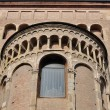 Cathedral transept, parma — Stock Photo