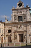 San giovanni church, parma — Stock Photo