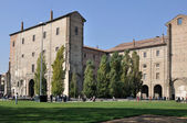 Pilotta palace, parma — Stock Photo