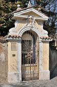 街头小教堂帕尔马 — 图库照片