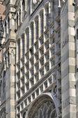 Cattedrale fregio di marmo, monza — Foto Stock