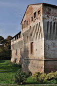 Roccabianca castle #1, emilia — Stock Photo