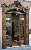 Barbería antigua, todi — Foto de Stock